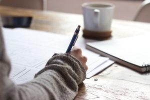 rituel d'écriture